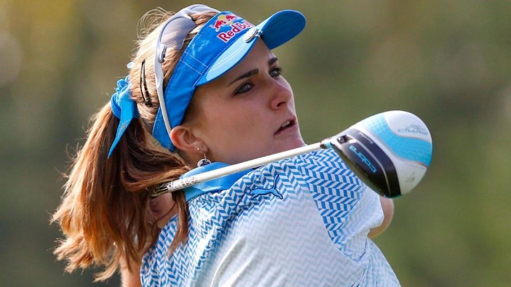 """โปรสาวนักกอล์ฟของ USA วัย 20 ปี ..""""Lixi Thompson"""".. คว้าชัยชนะ LPGA ครั้งที่ 6 ในชีวิต เมื่ออาทิตย์ ที่แล้ว รายการ ..""""2015 LPGA KEB - Hanna Bank Championship"""".."""