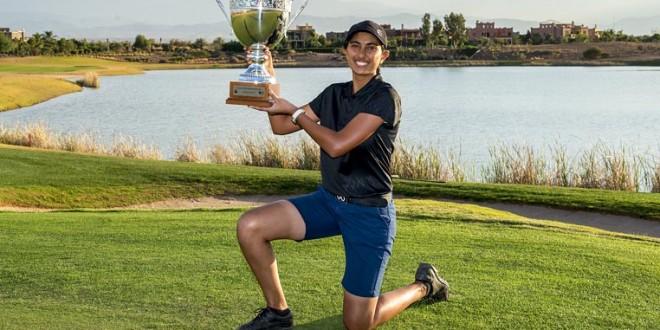 ".""ADITI ASHOK "" (A) วัย 17 ปีได้สร้างตำนานเป็นหนึ่งนักกอล์ฟสาวที่มีอายุน้อยที่สุดและเป็นนักกอล์ฟสาวคนแรกของประเทศ อินเดีย ที่ชนะการแข่งขันรายการ .."" LALLA ALCHA TOUR SCHOOL FINAL QUALIFYING"".. ในประเทศโมร็อกโกเมื่ออาทิตย์ที่แล้วด้วยสกอร์ 23 อันเดอร์พาร์ (68-69-62-68 ) ทำให้ผ่าน..Qualifier อย่างง่ายดายได้เล่นยูโรทัวร์ในปีหน้า"