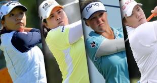 """สาว 4 คนนี้แหละที่จะเข้าชิงชัยรางวัล..""""2016 ESPY AWARD"""".. Ladia Ko / Inbee Park / Brooke M. Henderson/ Ariya Jutanugarn.."""