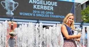 """..""""Angelique Kerber""""..เป็นสาวชาวเยอรมันคนแรกในรอบ 20 ปี ที่ได้แชมป์หญิงเดี่ยว U.S. Open ได้เมื่ออาทิตย์ที่แล้ว พร้อมได้ขึ้นมาครอบครองมืออันดับที่ 1 ของโลกอย่างสง่างาม.."""