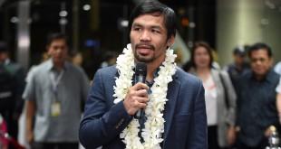 """เมื่อคนกำลังได้ใจหลังจากหวลกลับคืน มายืนบนเวที 4 เหลี่ยมผืนผ้าอีกครั้งแล้ว. สามารถคว้าชัยชนะได้ครองแชมป์ ...  WBO Welterweight.. .อย่างเป็นเอกฉันท์ ..""""Manny Pacquiao"""".. ได้ออกมาประกาศว่า ต้องการพบกับนาย.. Floyd  Mayweather ... เป็นรายการล้างตา หรือ เป็นรายการแหกตาคนดูอีกครั้ง ? ต้องคอยชม"""