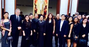 งานคอนเสิร์ตเพลงเพื่อพ่อ บทเพลงพระราชนิพนธ์ จัดโดยโรงเรียนสอนภาษาและวัฒนธรรมไทย วัดพุทธจักรมงคลรัตนาราม แซนดิเอโก้ ที่ Carlsbad City Library Auditorium ได้ กงสุล ร.ท.หญิง กรรภิรมย์  วิชาธร เป็นประธานเปิดงาน วันอาทิตย์ที่ 11 ธันวาคม 2016