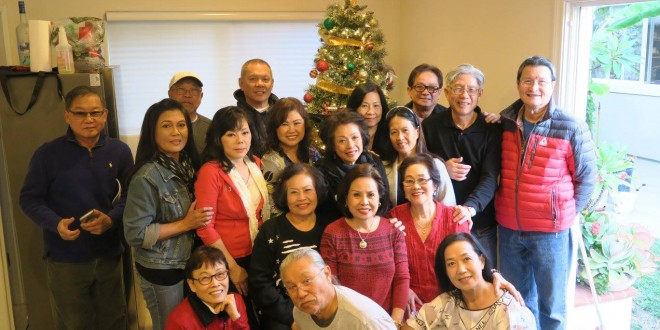 CHRISTMAS PARTY WITH KHUN AJ FAMILY#2 12.25.16 — with Jongchit Prapavat and 8 others in Downey, California