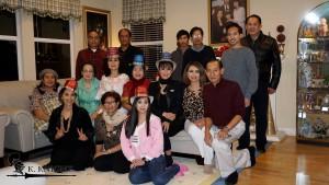 เคน/ทัศนียา และลูกสาว เชอร์รี่ ทรรพวสุ เปิดบ้านในเมืองแรนโช คูคามังก้า ,CA   จัดปาร์ตี้ฉลองวันขึ้นปีใหม่ 1มกราคม 2017 มีเพื่อนๆอาทิ ดีดี้ สิทธิเสรี สมเกียรติ ถึกเจริญ  สมยศ ทวีลาภ ประยุทธ เทียนทอง พนอศรี นุ่มลออ