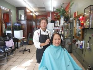 """ตัดแต่งทรงผมให้เข้ากับบุคลิก-ใบหน้า โดย """"เปี๊ยก"""" ช่างผมมืออาชีพ ประจำอยู่ที่ Chula Beauty Salon ใน Hollywood โทรนัดได้ที่ 323-286-3713"""