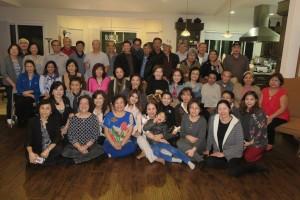 งานปาร์ตี้สังสรรค์ที่บ้าน วุฒิสิทธิ์/จงจิต ประภาวัตร เมืองดาวน์นี่ รัฐแคลิฟอร์เนีย เมื่อวันที่ 5 กุมภาพันธ์ 2017 มีเพื่อนสนิทกว่า 50 ชีวิตไปร่วมสังสรรค์ เป็นกลุ่มเพื่อนที่ใหญ่ที่สุดในชุมชนไทย นครลอสแอนเจลิส