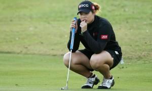 """ไม่ใช่ของง่ายสำหรับนักกอล์ฟสาวไทย """"โปรเม """"..เอรียา จุฑานุกาล ..ที่นั่งรอขึ้นมืออันดับที่ 1 ของโลก หลังจากการประกาศ เมื่อวันจันทร์ที่ 6 กุมภาพันธ์ ที่ผ่านมา มีคะแนนสะสมเพียง 7.51 คะแนน ตามหลังมืออันดับที่ 1 ของโลก..""""ลิเดีย โค""""...โปรนักกอล์ฟสาว..นิวซีแลนด์..ที่มีคะแนนสะสม อยู่ที่ 10.48 ..."""