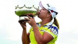 """JANG HA HA .. สาวจาก เกาหลีใต้คว้าแชมป์รายการ ของ LPGA ครั้งที่ 4 ในชีวิต รายการ ISPS HANDA Women's Australia Open"""".."""