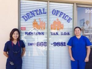 ยิ้มสดใส ฟันแข็งแรง ตรวจเช็คสุขภาพฟัน กับ ท.ญ.ชาลีน วรานนท์ (ซ้าย) รักษาฟันทั้งเด็ก-ผู้ใหญ่, อุดฟัน, ครอบฟัน, ถอนฟัน, ฟอกฟันขาว, จัดฟัน Invisaligh, ทำความสะอาดฟัน, รักษาโรคฟัน-รากฟันเทียม โทรนัดล่วงหน้าที่ คลีนิคหมอฟัน ใน ฮอลลีวูด 323-666-9881