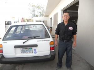 """รับซ่อมตัวถัง พ่นสีรถยนต์ทุกชนิด โดย """"ช่างใหญ่"""" ช่างผู้ชำนาญงาน และช่วยเดินเรื่องกับบริษัทประกันภัยให้ ตรงไปที่ North Hollywood Auto Body & PNT 7246 Hinds Ave., N.Hollywood, CA 91605 โทร. 818-980-4851"""