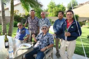 เพื่อนๆ อาทิ ไว คีลี ไปร่วมงาน Retired party ของ ชุมพล ลอยลาบเจริญพร เมื่ออาทิตย์ที่ผ่านมา