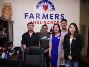 เบี้ยประกันต่ำ คุ้มครองทันที เมื่อทำประกันภัยทุกประเภท กับ Farmers Insurance ใน Hollywood ติดต่อเพื่อโค้ตราคาได้ที่ Chris-Darlene-Chanya-Terry-Ann (ทีมงาน) โทร. 323-988-3377