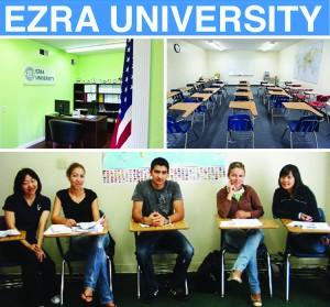 สำหรับนักเรียนต่างชาติ ที่ต้องการเป็นศิษยาภิบาล ศึกษาต่อในหลักสูตรปริญญาตรีสาขาศาสนศาสตร์-ปริญญาโทสาขาศาสนศาสตร์-ศาสนศาสตร์มหาบัณฑิต ลงทะบียนเรียนได้ที่ Ezra University 2064 Marengo St.#200 L.A., CA 90033 (มีเจ้าหน้าที่คนไทย) โทร. 323-221-1024