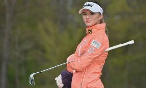 """ดูโฉมหน้าของนักกอล์ฟสาว..LPGA Tour ..มาตลอด อาทิตย์นี้ขอโชว์โฉมหน้าของนักกอล์ฟสาวคนสวยที่โชว์วงสวิงใน ..""""Ladies European Tour""""...คนที่คว้าแชมป์เมื่ออาทิตย์ที่แล้วผ่านมาเสียหน่อย.. Klara Spilkova .. เป็นนักกอล์ฟสาววัย 23 ปี จากประเทศ..""""CZECH REPUBLIC"""".."""