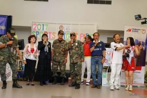 """งาน """"Sport Night"""" ที่ เมืองโรสมีด เมื่อคืนวันที่ 30 April 2017 จัดโดยสมาคมไทยแห่งแคลิฟอร์เนียภาคใต้ มี อมร จุลเสวี ประธานที่ปรึกษาชมรมอดีตทหารไทยนำสมาชิกไปร่วมเพิ่มความครื้นเครงให้กับงาน"""