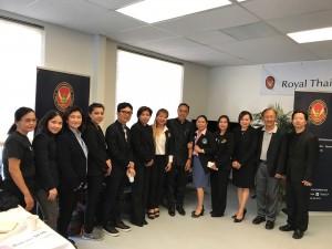 กงสุลใหญ่ นครลอสแอนเจลิส ธานี แสงรัตน์  เป็นประธานในการเปิดโครงการอบรมเสริมทักษะนวดไทย นำโดยสมาคมนวดไทยและสปาแห่งสหรัฐฯ จัดการอบรมในแอล.เอ.ระหว่างวันที่ 23-27 May 2017 (มีสองรุ่น)