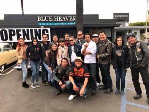 """พรรคนาวิน """"กบ"""" เข็มเพชร เจ้าของร้านอาหารไทยลือชื่อ """"ปานวิมาน"""" ขยายกิจการเปิดร้านอาหารไทยเพิ่มชื่อ Blue Heaven 740 East Broadway เมือง Long Beach, CA 90802 เพื่อนๆไปแสดงความยินดี"""