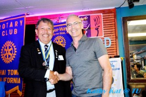 "Mitch O'Farrell member of the L.A. City Council 13th district congratulate to a new Rotary Thai town President elected 2017 Mr. Apitan ""เต๋า"" Thepprasit"