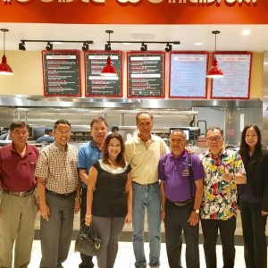 "Congratulations to Khun Surapol Mekpongsatorn on Grand Opening ""Noodle World Jr. # 6"" and Boba World on 2nd floor in Montclair Mall, Montclair, California. (Food court in front of JC Penny)"