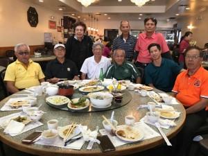 ชาญณรงค์/พรรณี ไล้บางยาง มาเที่ยวแอล.เอ.ไปทานอาหารร่วมกับกลุ่มกอล์ฟวันอังคาร หลังจบเกมส์ที่ Whittier Narrow G.C. เมื่อ 6 มิถุนายน 2017