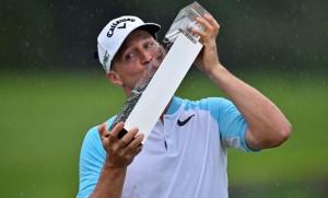 """รอบสุดท้าย..""""Alex Noren"""".. จากประเทศสวีเดน ทำสกอร์รวม 11 อันเดอร์พาร์  คว้าแชมป์กอล์ฟยูโรเปี้ยนทัวร์ รายการ.."""" BMW PGA Championship""""..ไปครองรับเงินรางวัล 1,041,939 ยูโร.."""