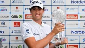 """คว้าถ้วยแชมป์ รายการ.. European Tour..ครั้งแรกในชีวิตนักกอล์ฟอาชีพ.. Renato Paratore..โปรกอล์ฟชาวอิตาเลียน วัย 20 ปีทำผลงานรอบสุดท้ายเก็บเพิ่ม 3 อันเดอร์พาร์ รายการ ..""""Nordea Masters"""".. ที่ใช้สนามกอล์ฟ..""""Barseback Golf and Country Club""""..ในประเทศสวีเดน เป็นที่แข่งขันจบสกอร์รวม 11 อันเดอร์พาร์ 68-72-71-70 (281) เฉือนอันดับที่ 2 รองแชมป์ 1 สโตรก ด้านนักกอล์ฟไทยที่ทำผลงานได้ดีที่สุดในรายการนี้คือ """"โปรอาร์ม"""" กิรเดช อภิบาลรัตน์ จบสกอร์ อีเวนพาร์อันดับที่ 41 ร่วม และ โปรช้าง ธงชัย ใจดี จบอันดับ 53 ร่วมสกอร์ 2 โอเวอร์พาร์ .."""