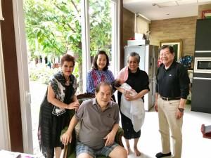 """ไพวงษ์ เตชะณรงค์ อดีตนายกสมาคมไทยแห่งแคลิฟอร์เนียภาคใต้และเจ้าของ""""โบนันซ่า"""" เขาใหญ่ นัดเพื่อนเก่าจากแอล.เอ. ไปกินข้าวที่ร้านเพลินถนนวิภาวดีฯ เมื่อวันที่ 17 July 2017"""