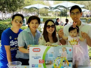 "1st Birthday party princess Jasmine ลูกสาวคุณแม่ เจนนิเฟอร์ และคุณพ่อไชยศ อิงอร่าม มี จีน่า ปรีชา นายกสมาคมไทยฯ พาบอดี้การ์ด ""ป๊อป"" ไปร่วม"
