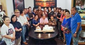 ปาร์ตี้วันเกิดให้สามคน ประกายทิพย์ มาลากุล ณ อยุธยา -เหน่ง- และ สุวคนธ์ กาญจนา เกิดเดือน กรกฎาคม เมื่อ วันที่ 12 July 2017