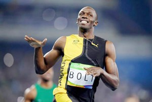 """อย่าลืมขอเตือนบอกล่วงหน้าไว้ก่อนว่าห้ามพลาดเป็นอันขาดครับแค่อีกเพียง 2 อาทิตย์เองครับ..""""Usain Bolt""""..มนุษย์ที่วิ่งระยะทาง 100 เมตรเร็วที่สุดในโลก ชาว..Jamaica..เจ้าของ.. 3 World Records Holder 100 m,200 m,4x100 m, 8 Times Olympic Champion , 11 Times World Champions..ได้ออกมายืนยันเตรียมลงวิ่งในประเภท 100 เมตรชาย และผลัด 4x100 เมตรชายในศึก..""""กรีฑาชิงแชมป์โลก 2017""""... ที่กรุงลอนดอน ประเทศอังกฤษ ในเดือนส.ค.นี้เป็นรายการสุดท้ายก่อนอำลาลู่วิ่งอย่างเป็นทางการ ตามกำหนดการนั้นการแข่งขันวิ่ง 100 เมตรชายจะชิงเหรียญทองกันในวันที่ 5 ส.ค. และจะมีการชิงเหรียญทองประเภทผลัด 4x100 เมตรชายในวันเสาร์ที่ 12 ส.ค. โดย ..""""Usain  Bolt""""..ได้ตั้งเป้าเอาไว้ว่าจะคว้าแชมป์ทั้ง 2 รายการให้ได้เพื่อเป็นการสั่งลาอย่างสมบูรณ์แบบ.."""