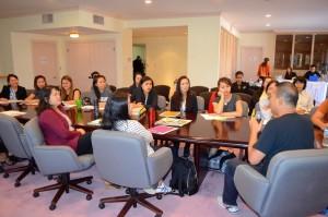 สมาคมนวดไทยฯได้จัด ติว Mblex เพื่อสอบเอาไลเซ่นต์การนวดในแคลฟอร์เนีย ติวระหว่างวันที่ 7,9,10 สิงหาคม 2017 ที่สถานกงสุลใหญ่ ลอสแอนเจลิส ในภาพเป็น ส่วนหนึ่งของผู้เข้าร่วม