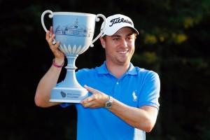 คว้าแชมป์รายการ..PGA Tour...แชมป์ที่ 5 ในฤดูกาลนี้ ..Justin Thomas..โปรกอล์ฟหนุ่ม ชาวสหรัฐฯ วัย 25 ปี  โชว์วงสวิงหวด 5 อันเดอร์พาร์ ...ในรอบสุดท้ายสกอร์รวม 17 อันเดอร์พาร์ คว้าแชมป์.. Dell Technologies Championships..