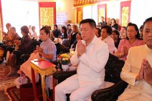 Mr.Thomas Kiang Lao เป็นประธานงานทอดกฐินสามัคคี ที่วัดธรรมสุจิตต์(บิ๊กแบร์) เมื่อวันอาทิตย์ที่ 15 ตุลาคม 2017