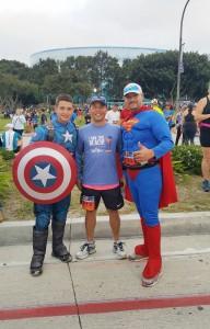 Congratulation to Mr.Woot Sorajjikool(กลาง) เข้าร่วมการแข่งขันวิ่งHalf Marathon at Long Beach , CA เมื่อวันที่ 8 October 2017 ใช้เวลา 2 ชั่วโมง 15 นาที