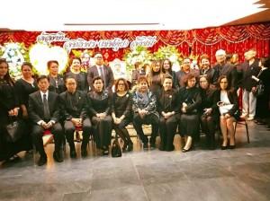 ธานี แสงรัตน์ กสญ.นครลอสแอนเจลิส ได้เป็นเจ้าภาพงานสวดพระอภิธรรมศพ นายสุทธิพร สังขมี (เชฟตุ๋ย) เจ้าของร้านอาหารจิตลดา ณ วัดไทย ลอสแองเจลิส 21 October 2017