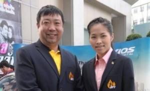 """ได้ตัดสินใจแล้วจะไม่เป็นคนจีนอีกต่อไปแล้ว .. """"เซียะ จื่อหัว"""".. ผู้ฝึกสอนแบดมินตันชาวจีนวัย 51 ปี จากโรงเรียนแบดมินตันบ้ านทองหยอด ได้เข้าร่วมพิธีรับหนังสือสำคั ญการแปลงสัญชาติเป็นไทย เพื่อรับรองการเป็นคนไทยอย่ างสมบูรณ์ 1000% เมื่ออาทิตย์ที่แล้วผ่านมา และ มี """"น้องเมย์"""" รัชนก อินทนนท์ ร่วมแสดงความยินดีด้วย ที่กองบัญชาการตำรวจสันติบาล กรมตำรวจ จะใช้ชื่อนามสกุลใหม่ ในฐานะคนไทยว่า..  """"ก่อเกียรติ ชัยประสิทธิ์โชค"""".."""