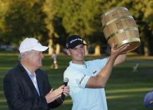 """""""Brendan Steele"""" ..โปรกอล์ฟอเมริกันวัย 34 ปี วันสุดท้ายโชว์วงสวิงทำอีก 3 อันเดอร์ คว้าแชมป์รายการเปิดตัวฤดูกาลใหม่ ของ PGA Tour รายการ..""""Safeway Open 2017 """"... ทำสกอร์จบสี่วัน ที่ 14 อันเดอร์พาร์ คว้าแชมป์.. PGA Tour .. เป็นรายการที่ 3  ในชีวิต"""