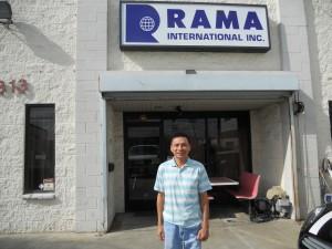 """สนใจส่งของกลับเมืองไทย, รับของทั่ว USA, รับออกของให้ที่ท่าเรือในกรุงเทพฯ, Door to Door Service โดยมี """"ติ๊ก"""" ให้การต้อนรับ ที่ Rama International Inc. 7313 Ethel Ave. N.Hollywood โทร. 818-764-9235"""