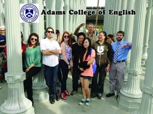 นักเรียนต่างชาติ ที่ต้องการเพิ่มทักษะการใช้ภาษาอังกฤษ ในหลักสูตร ESL, TOEFL, Conversation โปรแกรมใหม่ 2.5 วัน!!! $1,050/ควาเตอร์ (คอร์สคอนเวอร์เซชั่น รอบบ่าย) ลงทะเบียนเรียนได้ที่ Adams College of English 3700 Wilshire Blvd. Suite#985, L.A. CA 90010 โทร. 213-427-5547