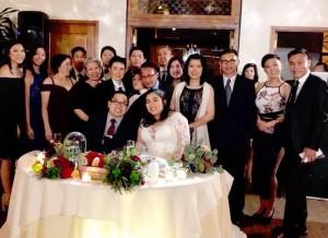 """""""ปื๊ด"""" บุญณรงค์ พูลสมบัติ หนุ่มโสดเดียวในงานแต่งงาน Billy and Mandi ที่เมืองRedondo Beach, CA Dec 10,2017"""
