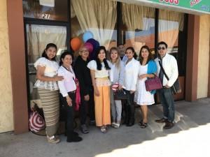 """""""จอย"""" เปิดร้าน Thai  body relax & Skin Care ที่ 22323 Sherman Way #21 Canoga Park, CA มี วรนุช บุญประกอบ -กนิษฐา และ จอนห์ เพอไรด้า -คิด ฉัตรประภาชัย - ภัทรมน""""ฝน"""" ทิพวงษ์ ฯลฯกว่า 50 คนไปร่วมแสดงความยินดี"""